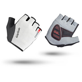 GripGrab EasyRider Short Cycling Gloves White